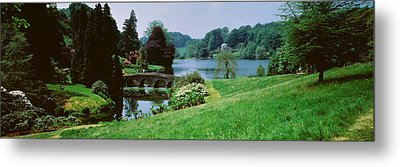 Stourhead Garden, England, United Metal Print by Panoramic Images