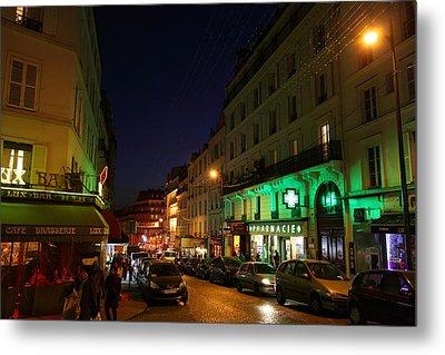 Street Scenes - Paris France - 011316 Metal Print by DC Photographer