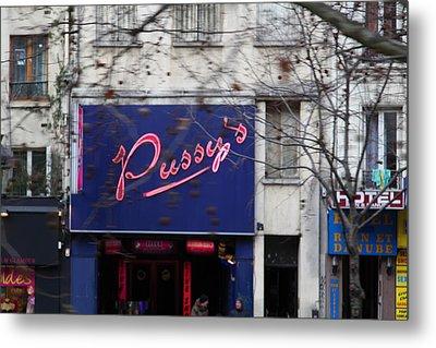 Street Scenes - Paris France - 011348 Metal Print by DC Photographer