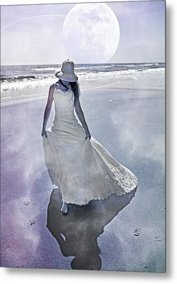 Strolling In Paradise Metal Print by Betsy Knapp