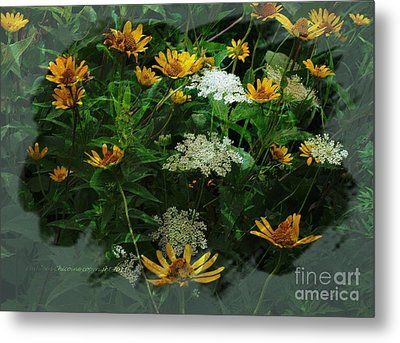 Summer Bouquet Metal Print by Kathie Chicoine