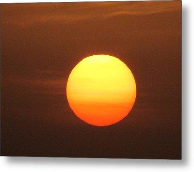 Sundown Metal Print by Andrea Dale