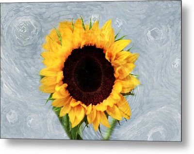 Sunflower Metal Print by Bill Howard