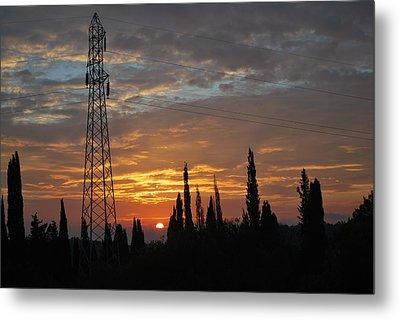 sunrise in Corfu 2 Metal Print by George Katechis