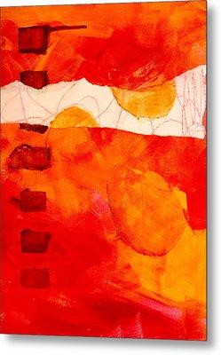 Sunrise Metal Print by Nancy Merkle