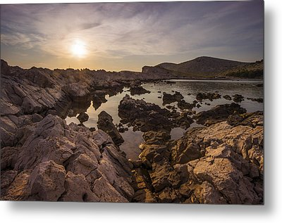 Sunset Metal Print by Akos Kozari