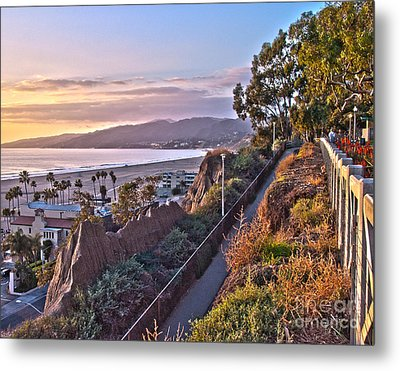 Sunset At The Bluffs Metal Print