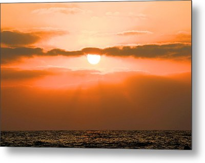 Sunset Metal Print by Gregor  Gatti