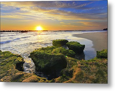 Sunset In Anzio Metal Print by Catalin Palosanu