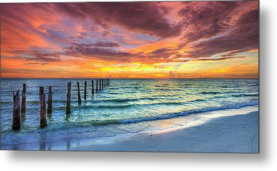 Sunset In Paradise Metal Print