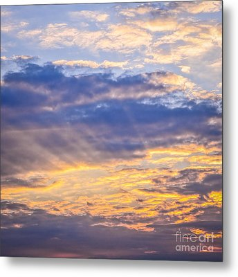 Sunset Sky Metal Print by Elena Elisseeva