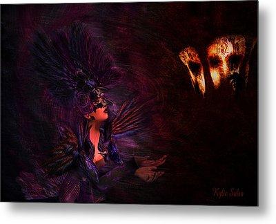 Metal Print featuring the digital art Supplication 06301301 - By Kylie Sabra by Kylie Sabra