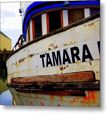 Tamara Metal Print by Mamie Gunning