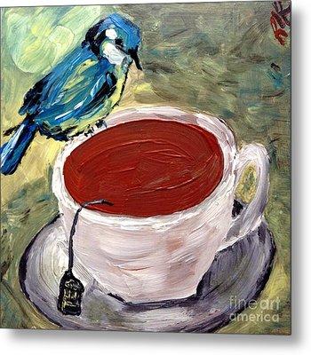 Tea Time  Metal Print by Reina Resto