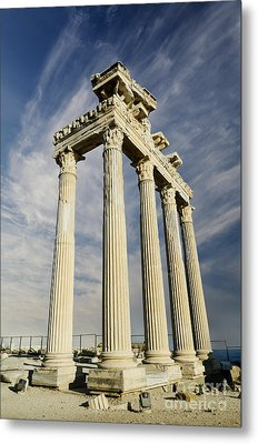Temple Of Apollo In Side Metal Print by Jelena Jovanovic