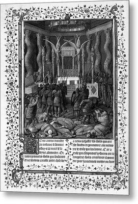 Temple Of Jerusalem Metal Print by Granger