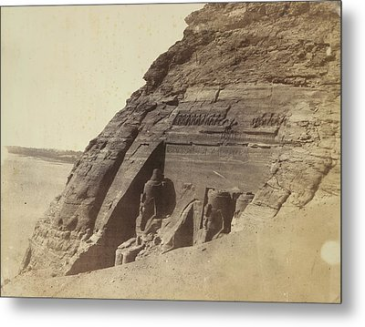 Temple Of Ramses II Metal Print by British Library