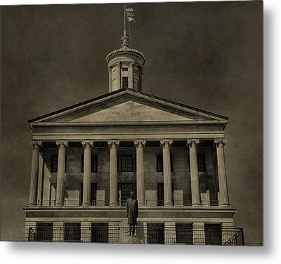 Tennessee Capitol Building Metal Print