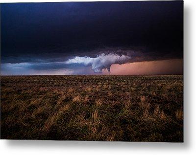 Texas Tornado Metal Print