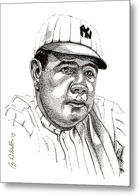 The Babe Metal Print by Cory Still