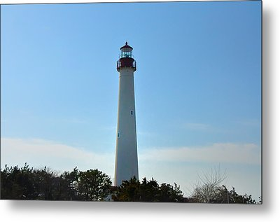 The Beacon Of Cape May Metal Print by Bill Cannon