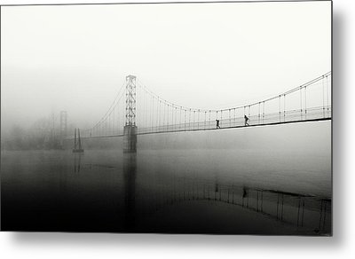 The Blue Morning Metal Print
