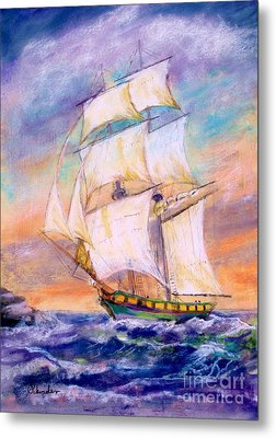 The Brig Metal Print by Bruce Schrader