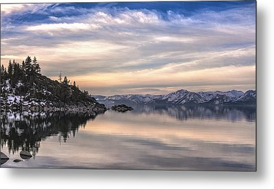 Metal Print featuring the photograph The Calm After Dawn by Nancy Marie Ricketts