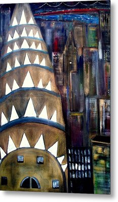The City That Never Sleeps  Metal Print by Rick Todaro