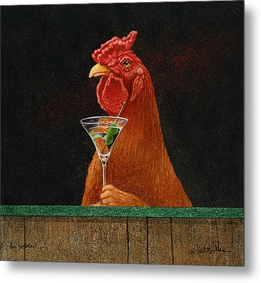 The Cocktail... Metal Print by Will Bullas