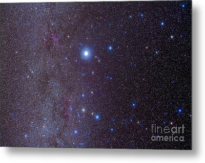 The Constellation Of Canis Major Metal Print