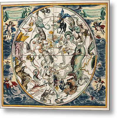The Constellations Metal Print by British Library