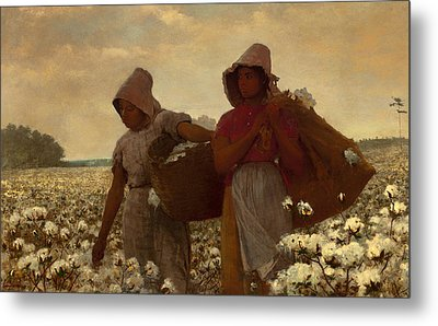 The Cotton Pickers Metal Print by Mountain Dreams