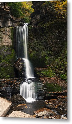 The Cowshed Falls Metal Print