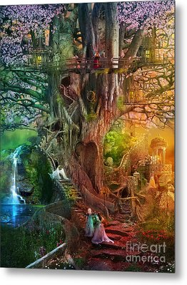 The Dreaming Tree Metal Print