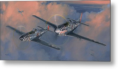 The Duxford Boys Metal Print by Wade Meyers