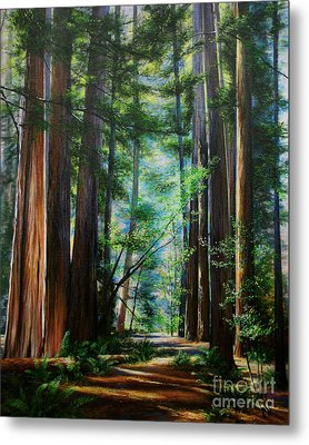 Metal Print featuring the painting The Elders by Jeanette French