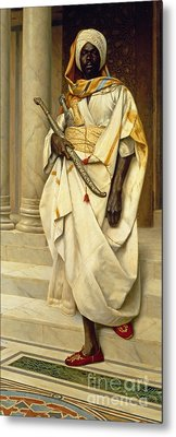 The Emir Metal Print by Ludwig Deutsch
