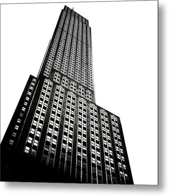 The Empire State Building Metal Print by Natasha Marco