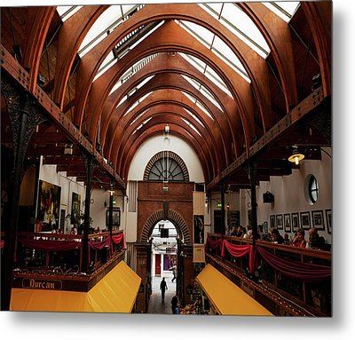 The English Market, Cork City, Ireland Metal Print by Panoramic Images