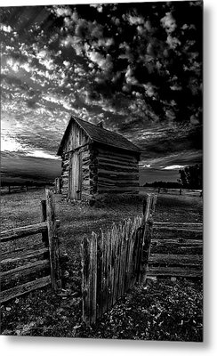 The Gate Metal Print by Phil Koch