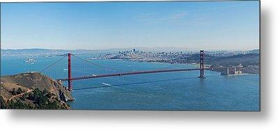The Golden Gate Bridge Metal Print by Twenty Two North Photography