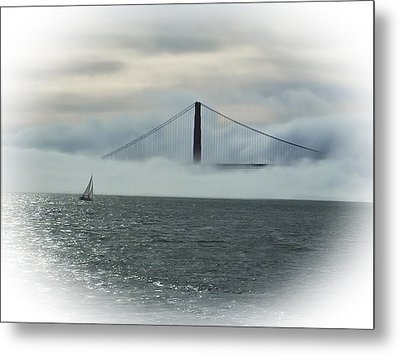 The Golden Gate Metal Print by Judy  Johnson