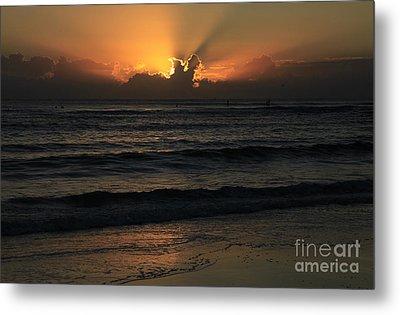 The Golden Glow Of Sunrise Metal Print by Noel Elliot