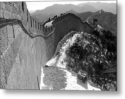 The Great Wall Of China Metal Print by Sebastian Musial