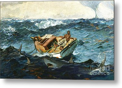 The Gulf Stream Metal Print by Pg Reproductions
