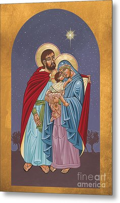 The Holy Family For The Holy Family Hospital Of Bethlehem 272 Metal Print