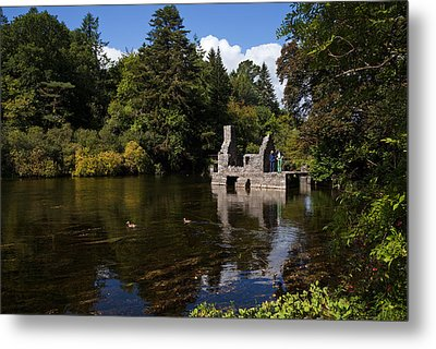 The Monks Fishing House, Part Of Cong Metal Print by Panoramic Images