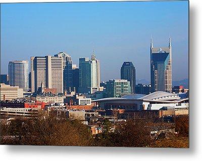 The Nashville Skyline As Viewed Metal Print
