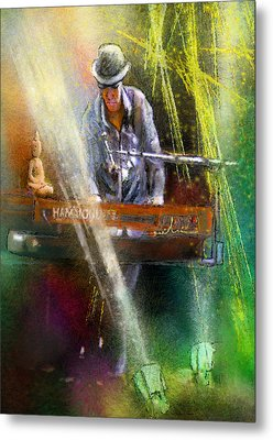 The Pianist 04 Metal Print by Miki De Goodaboom